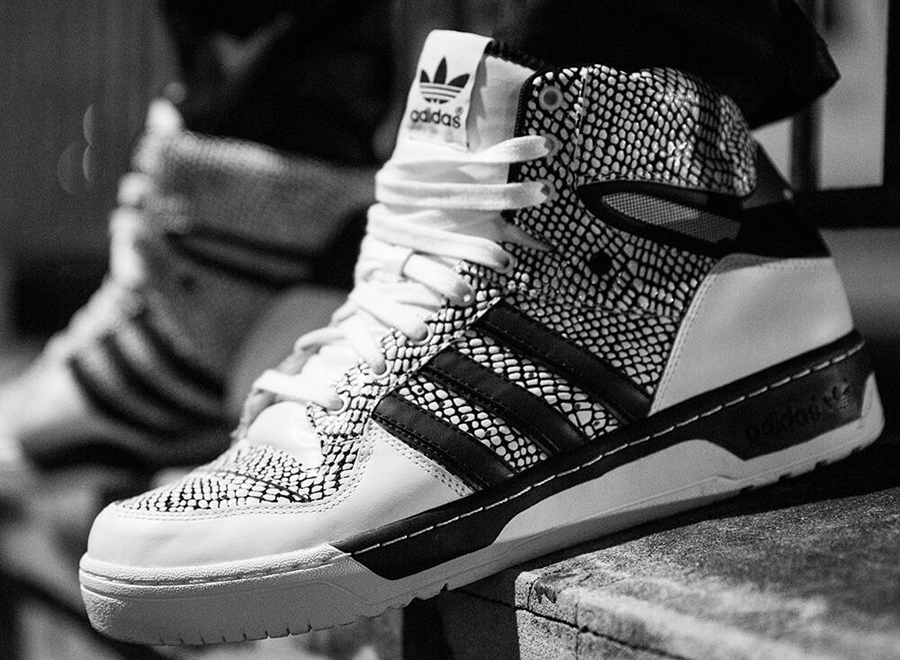 "The adidas Metro Attitude ""Reptile"" shown here isn't some quick move by adidas  Originals to take advantage of the snakeskin craze."