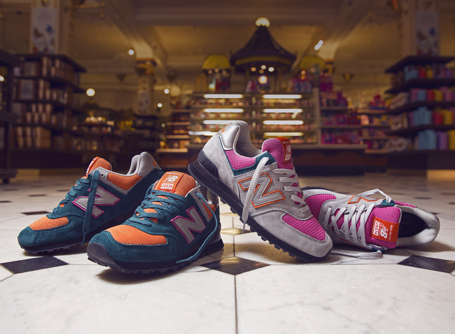 Size  Harrods x New Balance 574 Collection - SneakerNews.com bf26f760ca