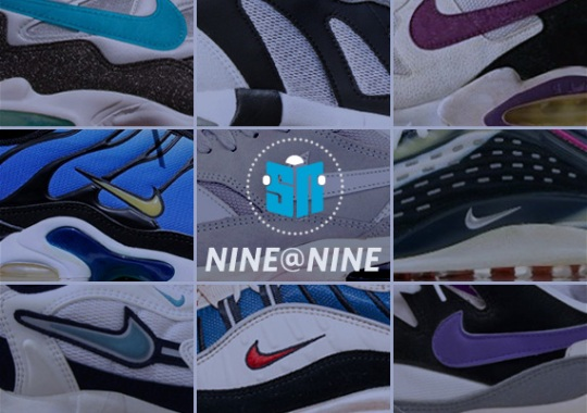 Sneaker News NINE@NINE: Underrated Air Max Models