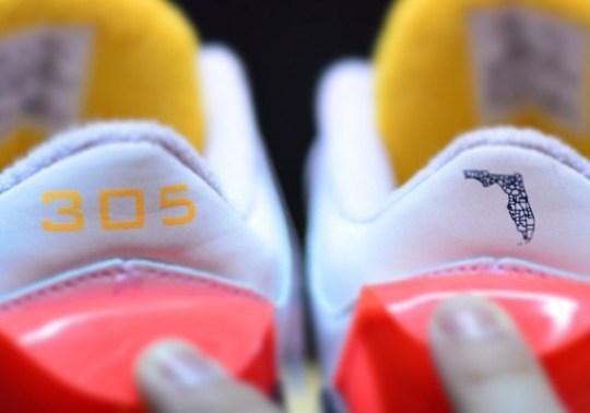 Solefly x Air Jordan 3 Pays Tribute to Miami, FL