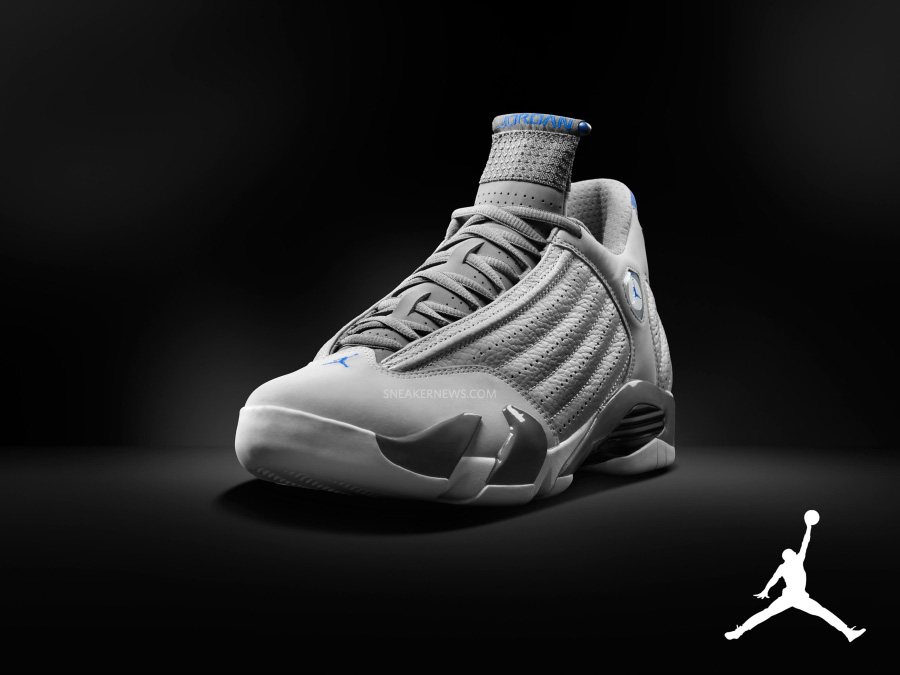 """new style 1d2df 99732 Air Jordan 14 """"Sport Blue"""" Color  Wolf Grey White-Sport Blue Style Code   487471-004. Release Date  08 02 14. Price   170"""