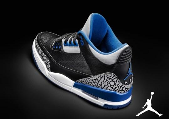 """""""Sport Blue"""" Air Jordan 3"""
