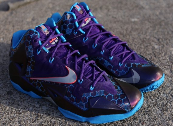 "factory price ffe26 e07a9 Nike LeBron 11 ""Hornets"" – Release Reminder"
