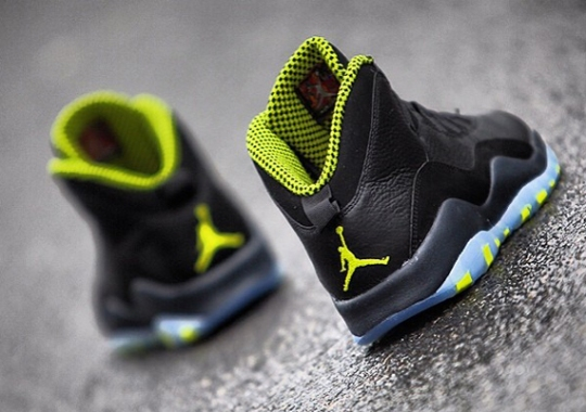 """Venom Green"" Air Jordan 10 Retro"