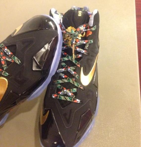"""Watch The Throne"" Nike LeBron 11 - SneakerNews.com"