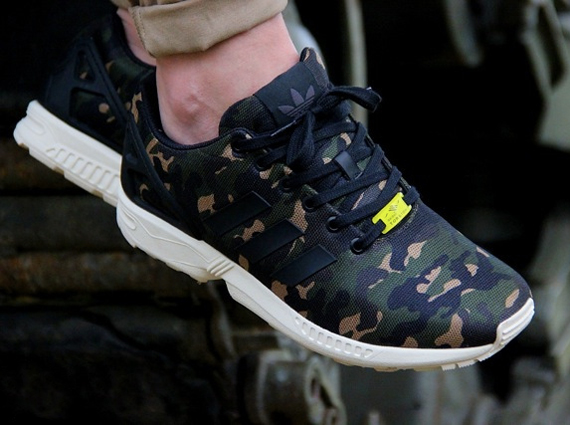 "best website 9b2f0 5e1cb adidas Originals ZX Flux ""Camo"""