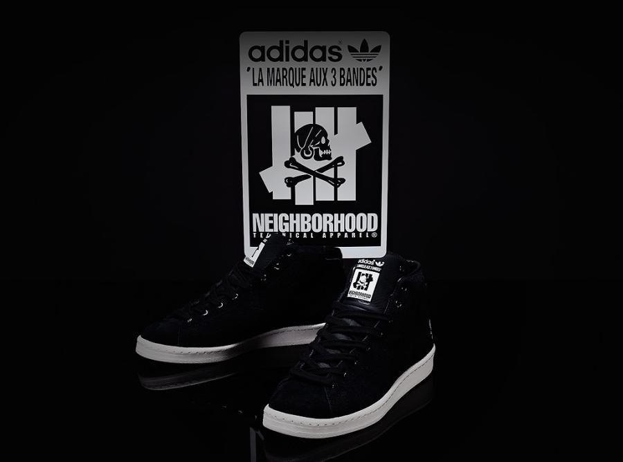 designer fashion 3af53 72cfe UNDFTD x Neighborhood x adidas Consortium Official Mid 80s - SneakerNews.com