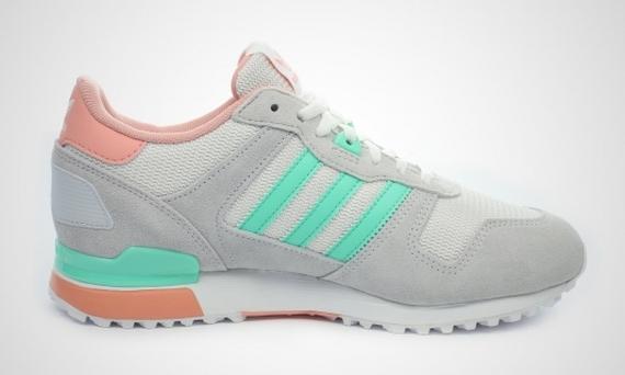 Adidas Zx 700 Kvinner Grå Turkis QLoG1DN2