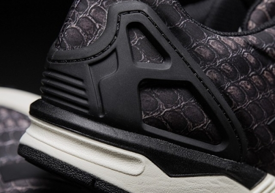 """quality design d674a 8171c SneakersNStuff Teases Upcoming adidas ZX Flux """"Snakeskin"""""""