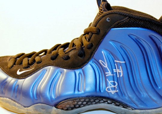 "Nike Air Foamposite One ""Royal"" – Autographed by Penny Hardaway"