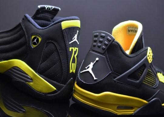 """A Detailed Look at the Air Jordan 14 Retro """"Thunder"""""""