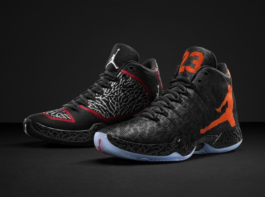 New Michael Jordan Orange Shoes