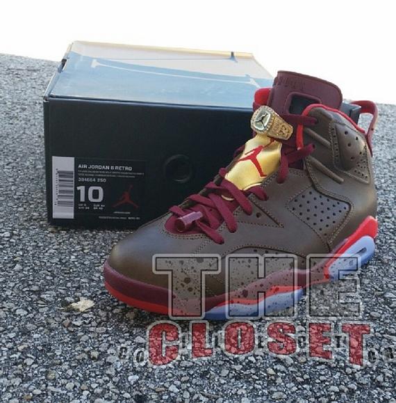 air jordan 6 shoe box