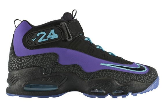 on sale 1013d 3edc7 Nike Air Griffey Max 1. Color  Purple Venom Black-Polarized Blue Style  Code  354912-500. Release Date  04 18 14. Price   150