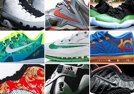 April 2014 Sneaker Releases
