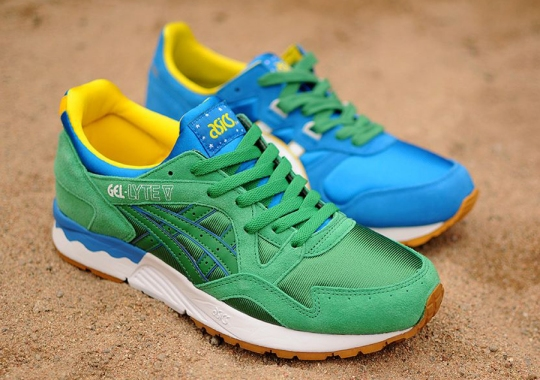 Asics Celebrates the 2014 World Cup with the Brazil Pack