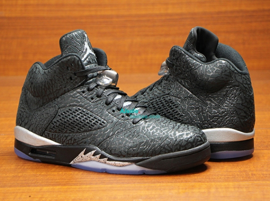 """Black/Metallic"" Air Jordan 3Lab5"