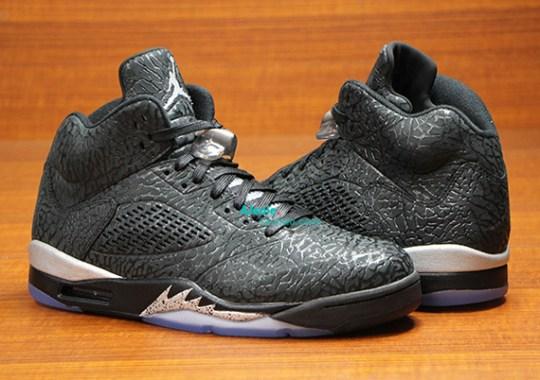 """Black/Metallic"" Air Jordan 3Lab5"