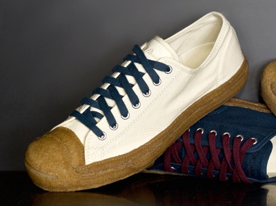 """Converse Jack Purcell """"Crepe"""" Collection"""
