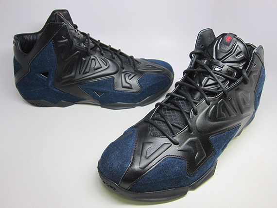 "detailed look cb8a3 f6d10 Nike LeBron 11 EXT ""Denim"" – Available Early on eBay"