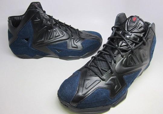 "Nike LeBron 11 EXT ""Denim"" – Available Early on eBay"