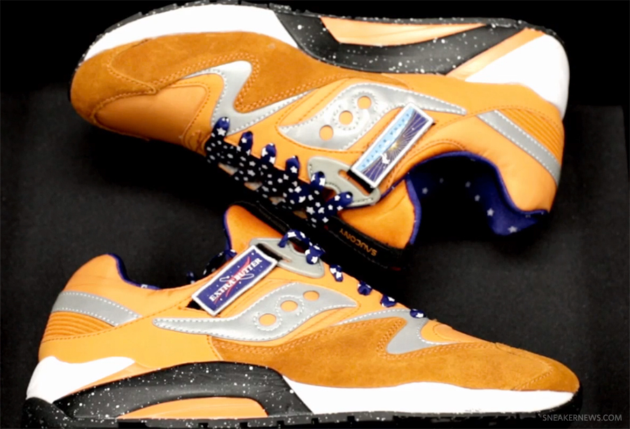 """Extra Butter x Saucony Aces Grid 9000 """"Space Race Pack"""""""