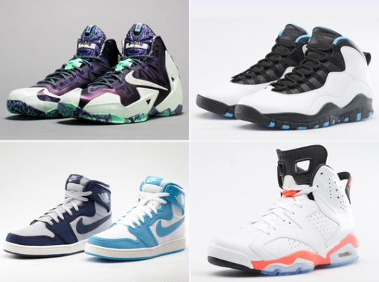 Foot Locker Europe Restocks Jordan Retros + Nike Basketball All-Star Sneakers