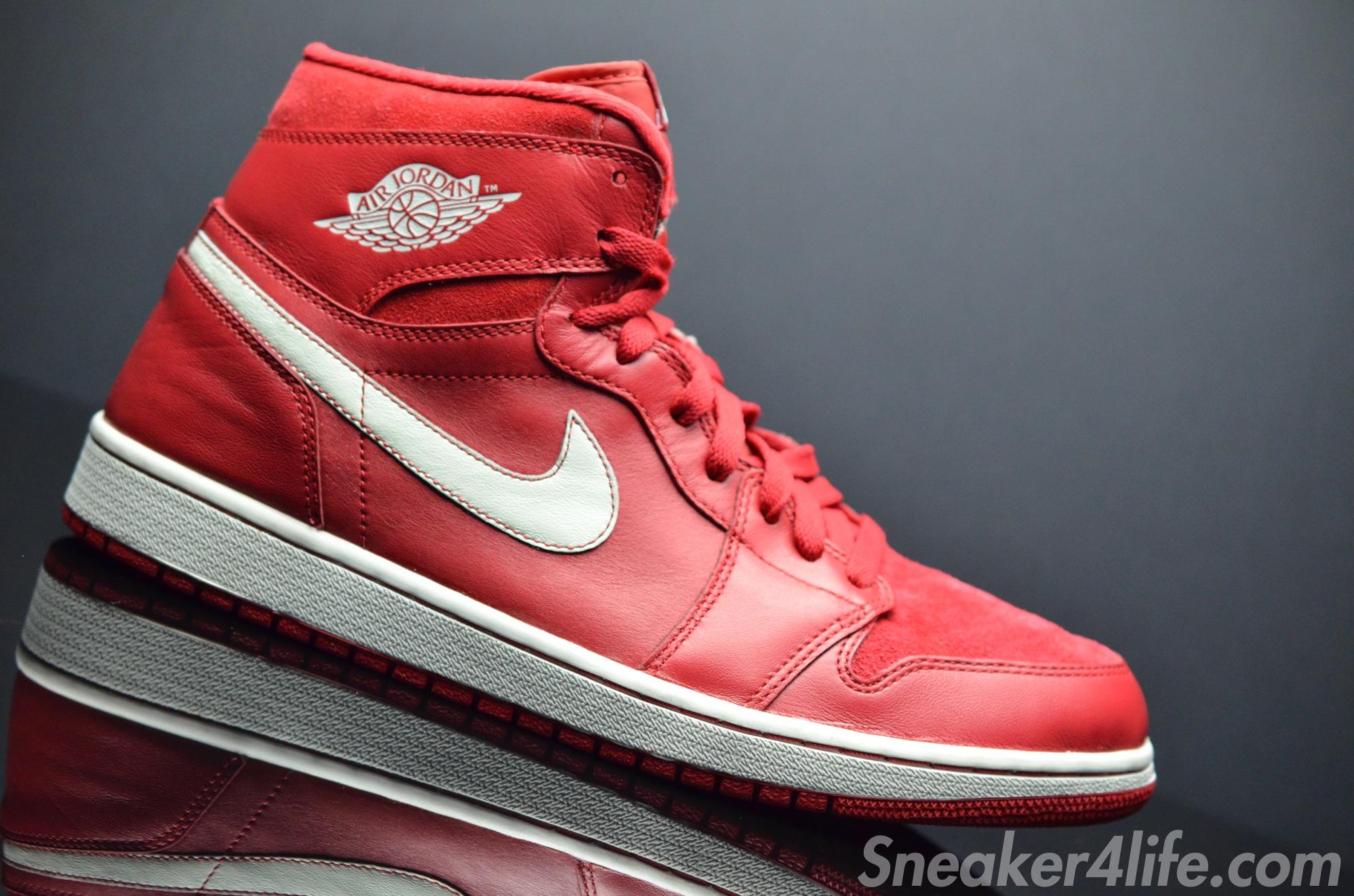 Air Jordan 1 Rétro Haut Og Gym Rouge / Voile