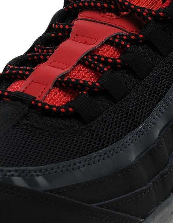 Nike Air Max 95 Svart / Universell Rød NlxUs1IRLN