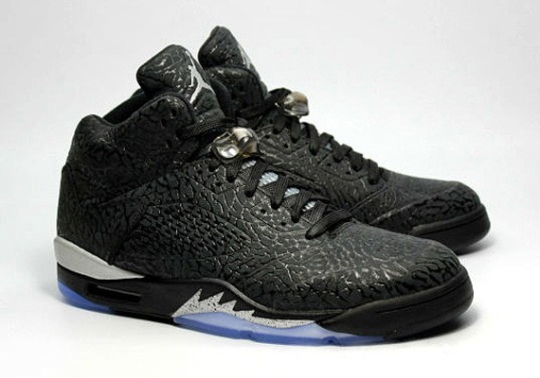"The Air Jordan 3Lab5 Goes OG with ""Black/Metallic"""