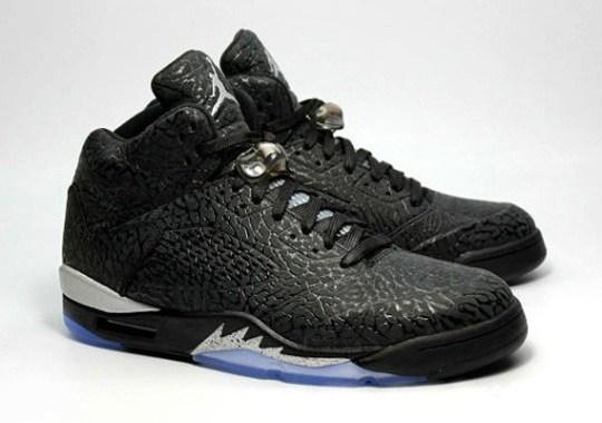 "The Air Jordan 3Lab5 Goes OG with ""Black/Metallic"""