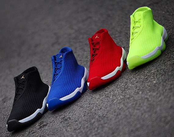 A Preview of Four Upcoming Jordan Future Releases