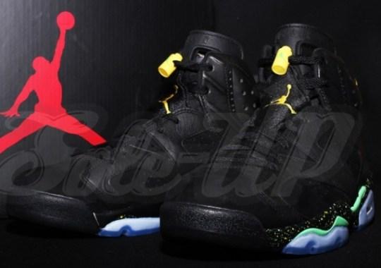 Air Jordan 6 – Black – Green – Yellow