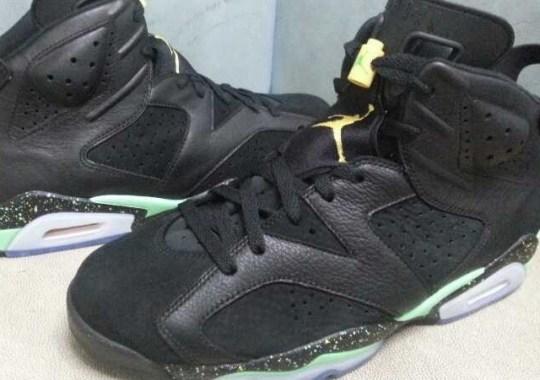 Air Jordan 6 – Black – Venom Green