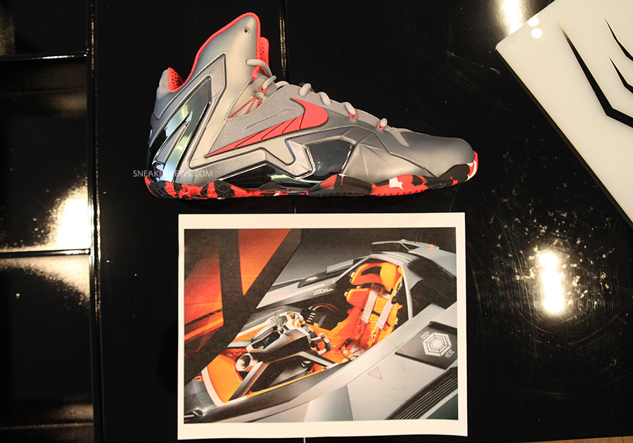 The Nike Lebron 11 Elite Was Inspired By The Lamborghini Egoista