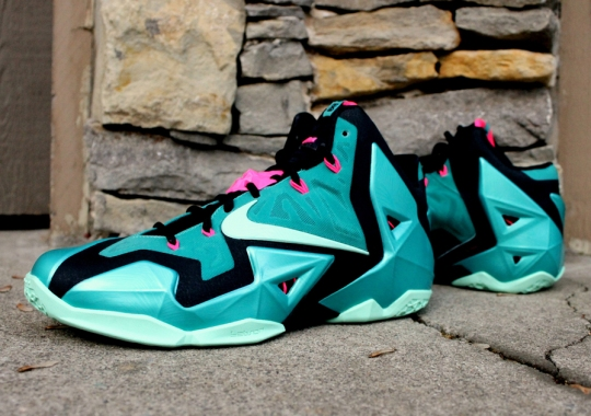 "A Detailed Look at the Nike LeBron 11 ""South Beach"""