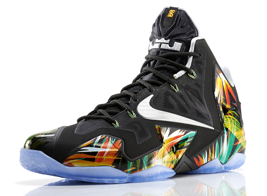 "Nike LeBron 11 ""Everglades"" - SneakerNews.com"