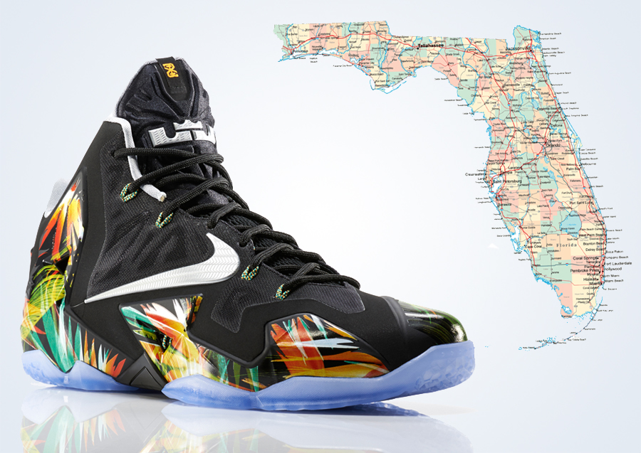 c55ad3a6c0e0 Statement Made  How Florida s Influence Elevated The Nike LeBron