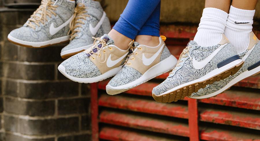 fdf92799defd Liberty London x Nike Sportswear - Summer 2014 Collection - SneakerNews.com