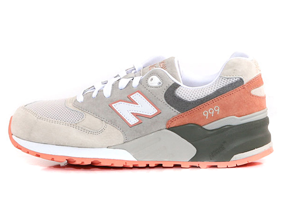 new balance 999 cherry blossom pack salmon pink. Black Bedroom Furniture Sets. Home Design Ideas