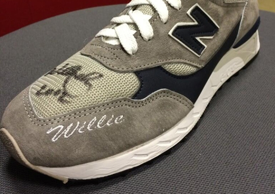 New Balance Wishes Willie Nelson A Happy Birthday, Digs Out An Old PE