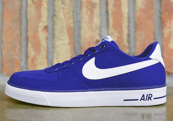 Nike Air Force 1 Ac Quot Deep Royal Blue Quot Sneakernews Com
