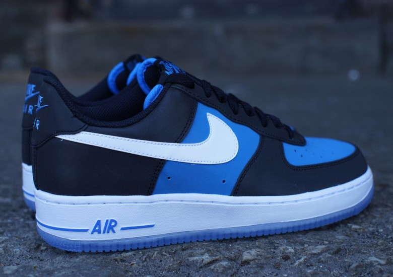 Nike Air Force 1 Low Black Light Photo Blue