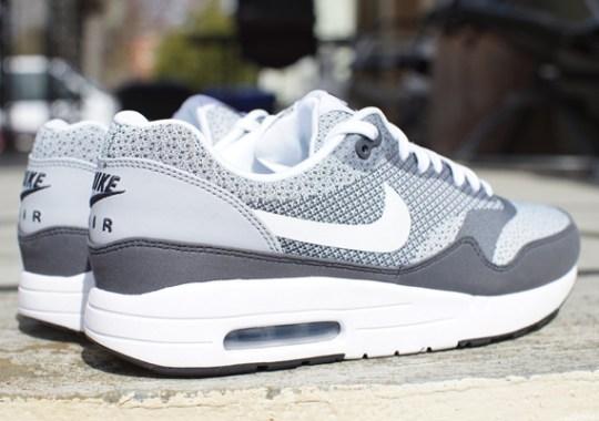 Nike Air Max 1 Jacquard – Grey – White