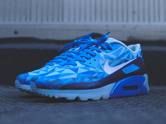 Femmes Nike Air Max 90 Ice - Air Max 90 Ice Azul Nikes Réduction Sorcravate