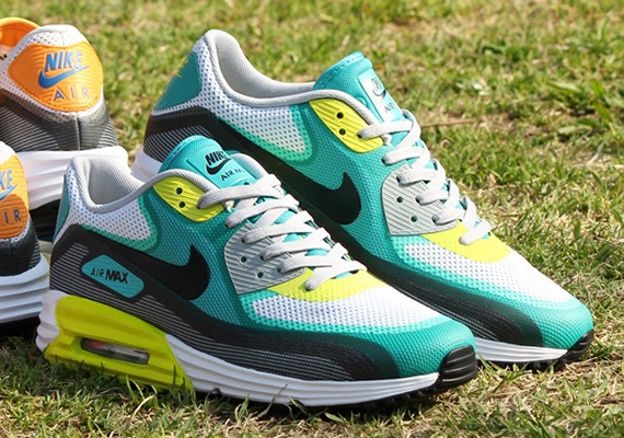 nike air max 90 lunar c3 0 white tribal green atomic. Black Bedroom Furniture Sets. Home Design Ideas