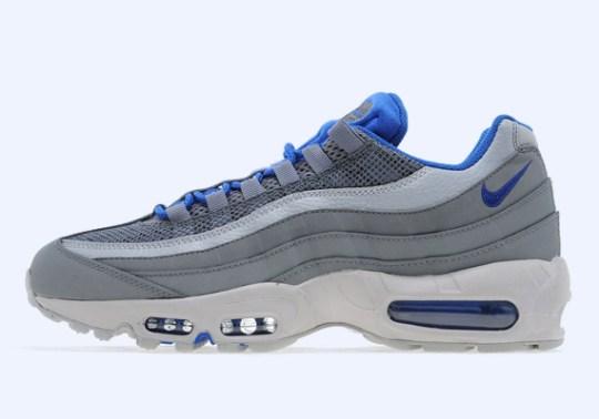 Nike Air Max 95 – Cool Grey – Game Royal – Photos