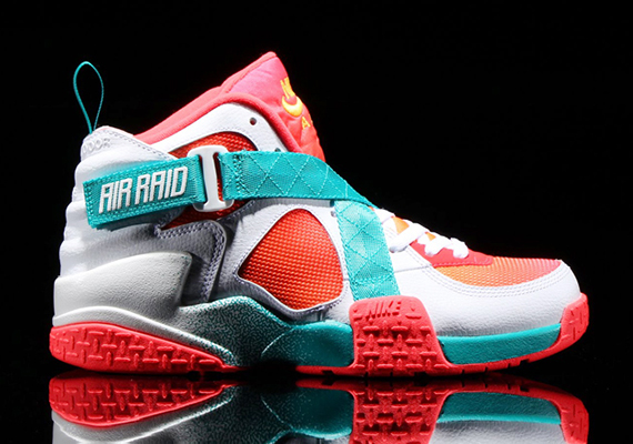 8cd66cb3630c Nike Air Raid BRZ Color  White Atomic Mango-Turbo Green-Laser Crimson Style  Code  642359-100. Release Date  05 31 14. Price   135
