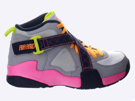 Nike Air Raid - Grey - Pink - Yellow - SneakerNews.com