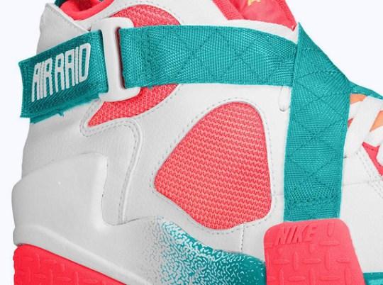 Nike Air Raid – White – Atomic Mango – Turbo Green – Laser Crimson